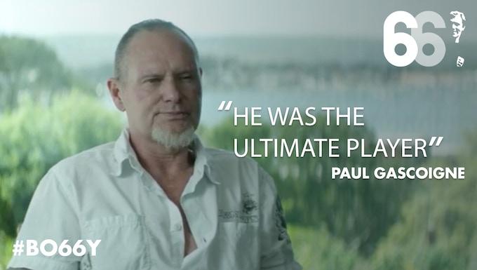 Paul Gascoigne (former England player)