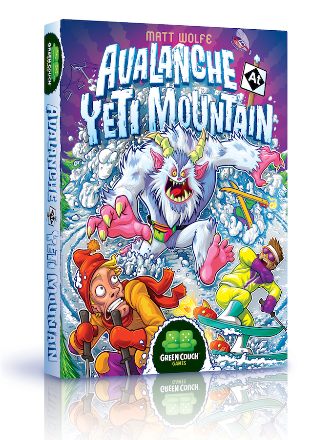 Green Couch Mountain Decor Living Room: Avalanche At Yeti Mountain From Green Couch Games! By