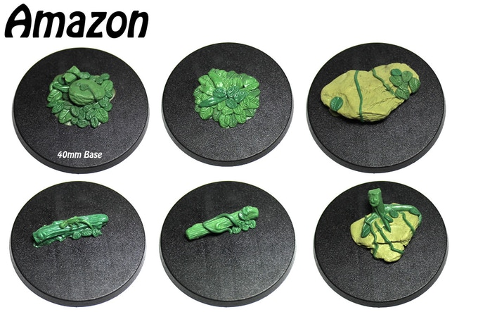 Amazon accessory mold with 6 different pieces