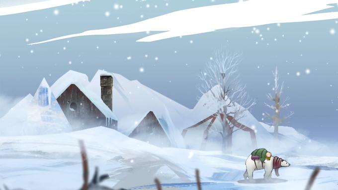 An early Winter screenshot