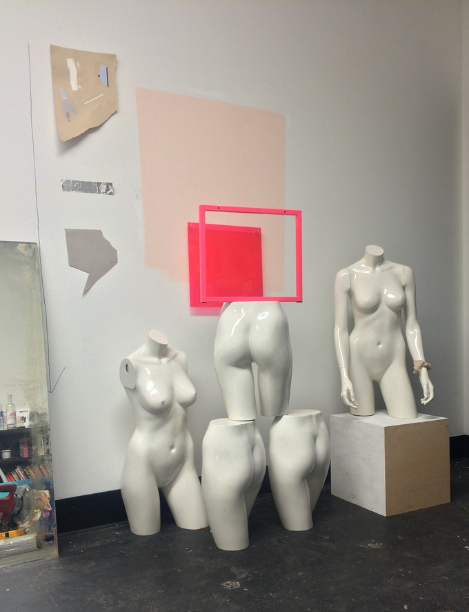 Just some of our mannequins