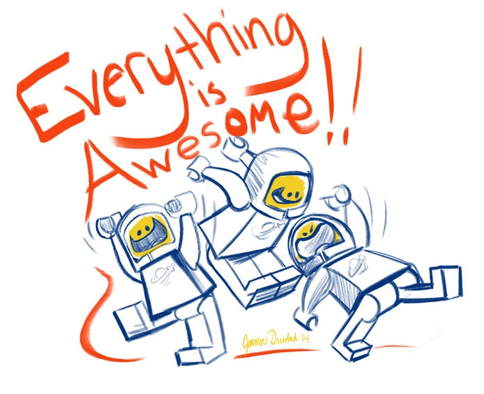 Everything really IS awesome!