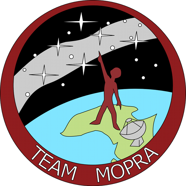 Draft mission patch - Catherine has always wanted one of those.