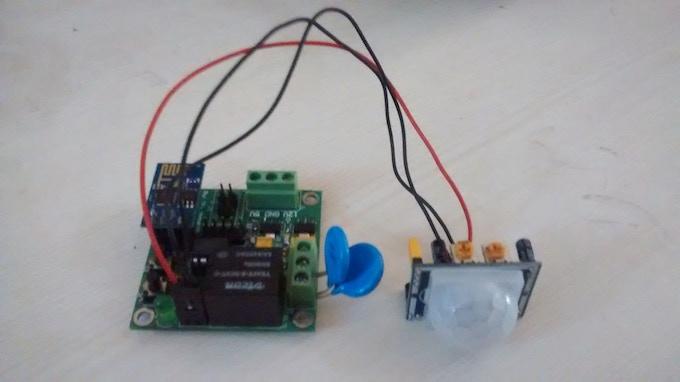 Wifi Switch Board with PIR Sensor