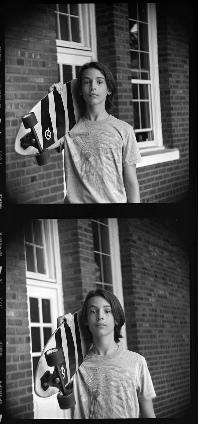 These frames  taken with Petzvar 4/120 at f/5.6