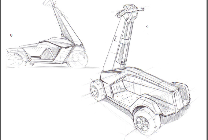 Concept Sketches - Side View