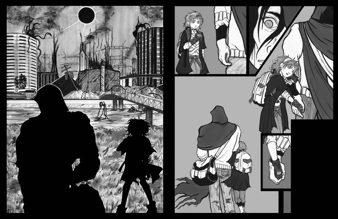 Pages 1 & 4 Unlettered