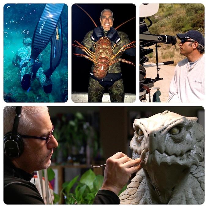 Dive, fish, make art and movies... life ...