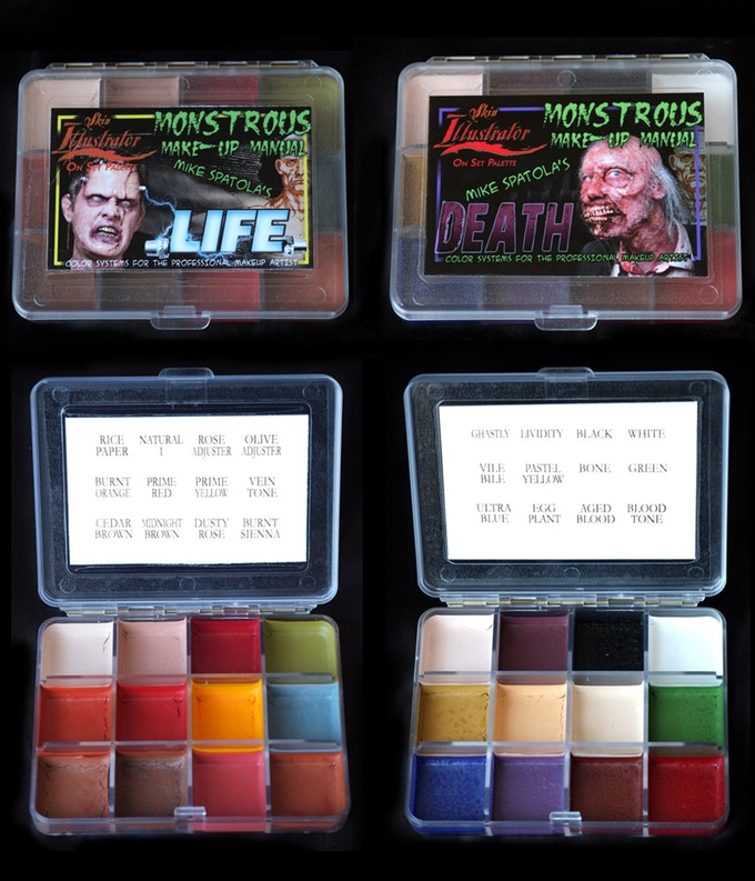 Mike's custom designed LIFE and DEATH Palettes as used in Book 3