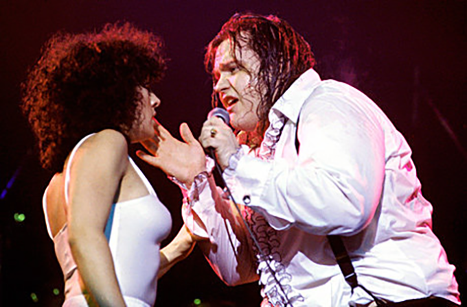 My mom, Karla DeVito, pictured above touring with Meatloaf for Bat out of Hell.