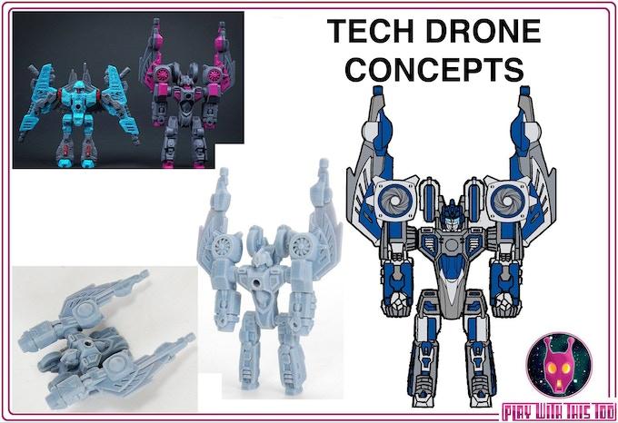 Tech Drone Concepts
