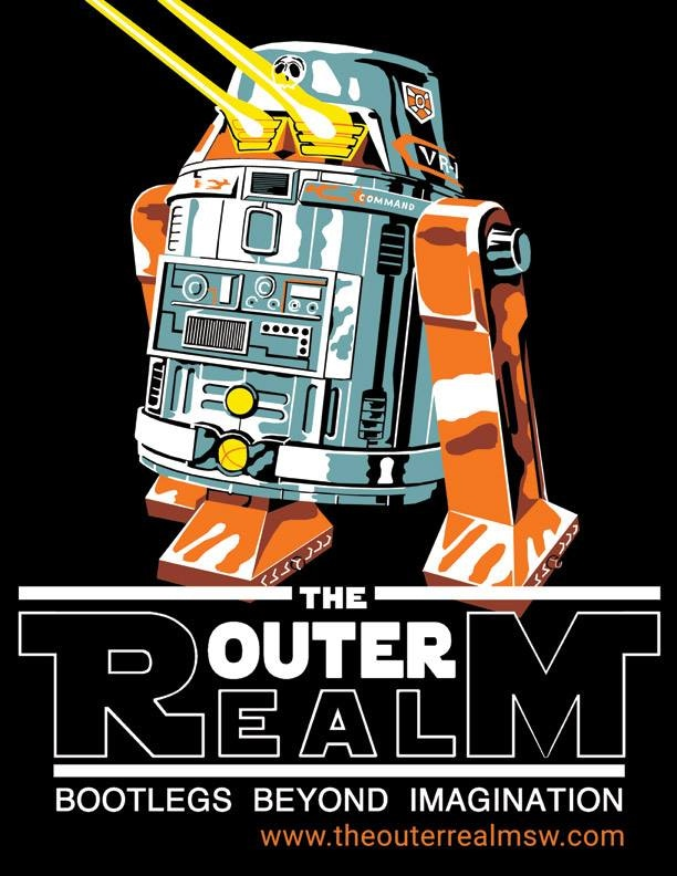 Japanese R2 Shirt and button design, by Bill Cable