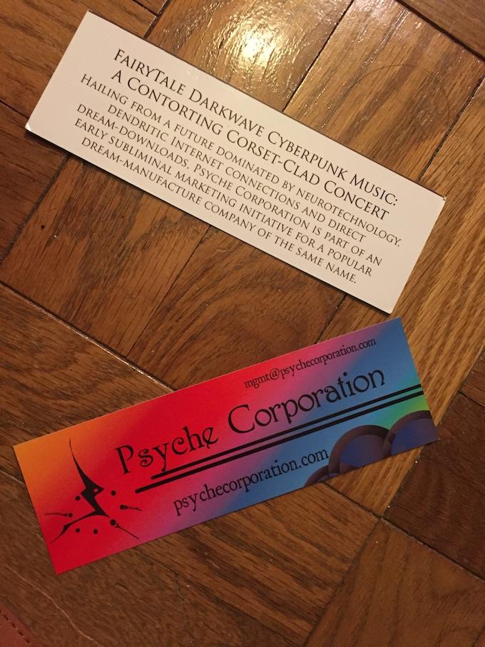Psyche Corp. rainbow card