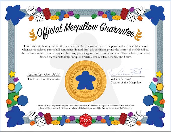 The Meepillow Guarantee!