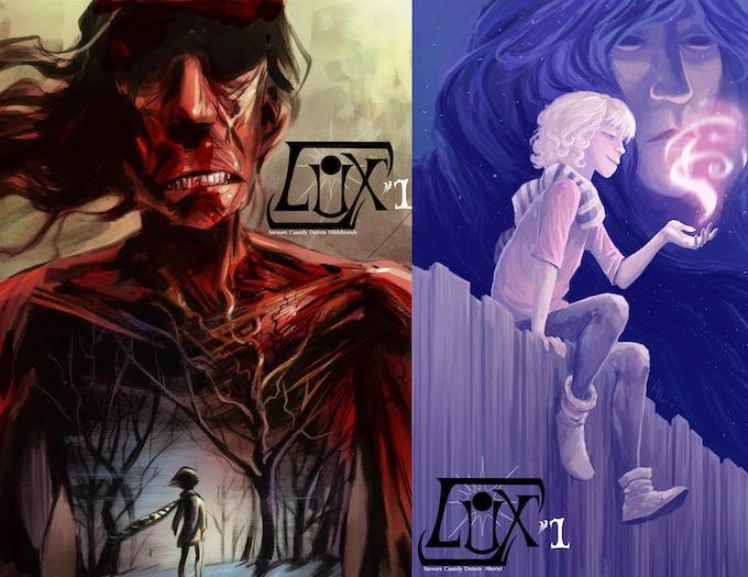 Standard & Kickstarter Exclusive Covers