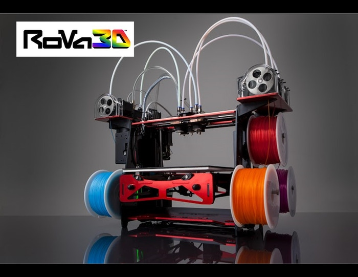 Introducing the RoVa3D  – the most rugged, versatile, & user-friendly desktop 3D  printer.  Our printer is flexible, customizable &  affordable, & it's the perfect solution for the extreme maker.