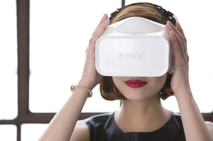 The FOVE VR headset was recently successfully funded on Kickstarter.