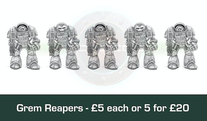 Grem Alliance Reaper Suits £20 for 5