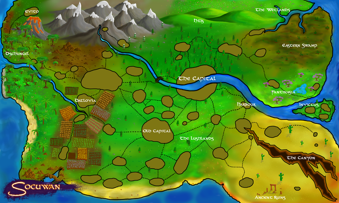 World Map Concept: You can find a full-resolution, interactive version on the Socuwan website.
