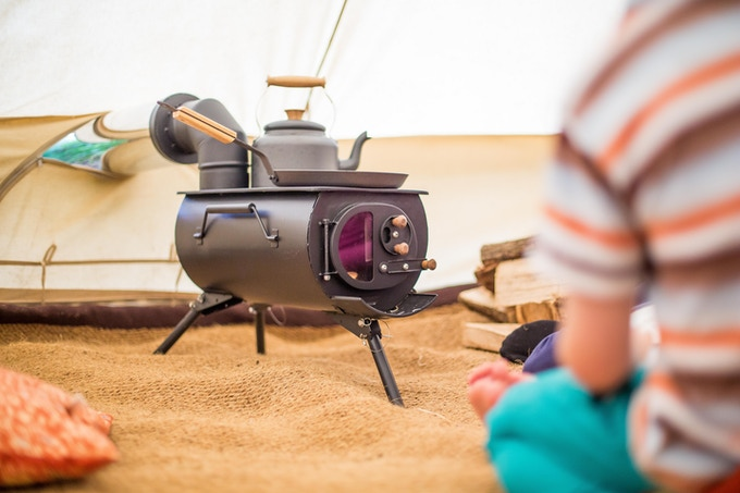 Frontier Plus ∙ A Next Generation Portable Woodburning