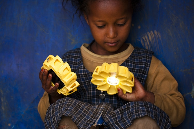 Little Sun Charge: A Solar Phone Charger By Olafur