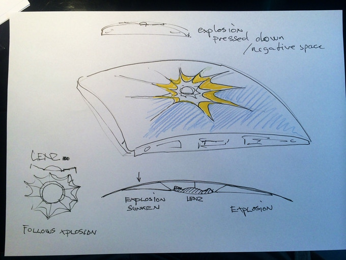 Early Little Sun Charge sketch