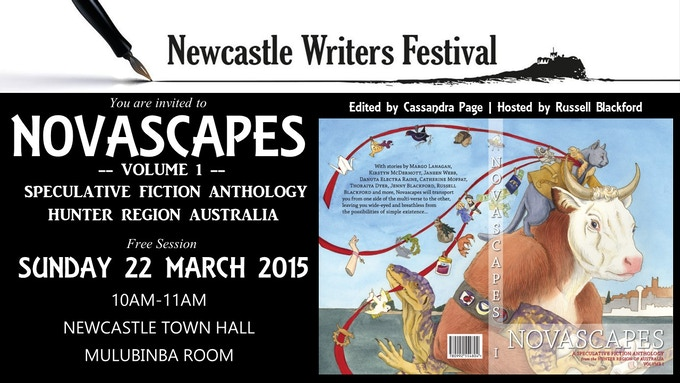 Novascapes (Volume 1) at Newcastle Writers Festival 2015