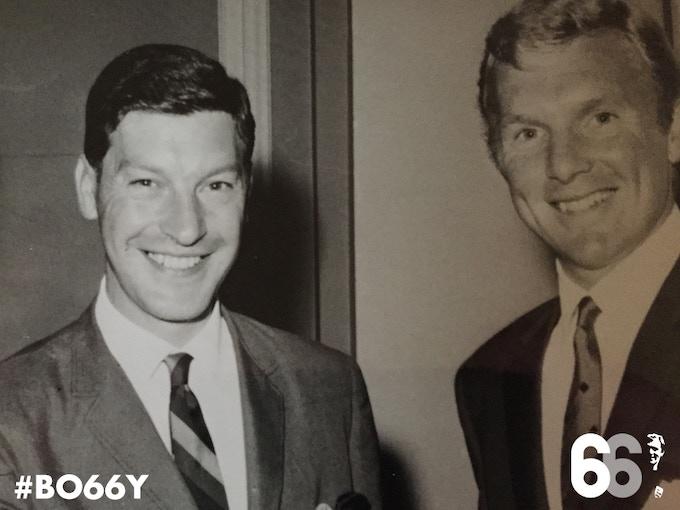 Peter Lorenzo and Bobby Moore