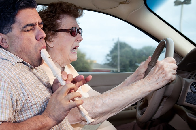 Title: Mother freaks out over son's recorder playing