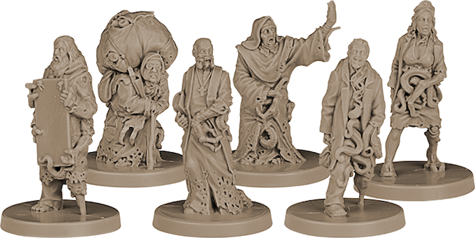 The Acolytes: Corrupted Hobos, Nuns, and Doctors.