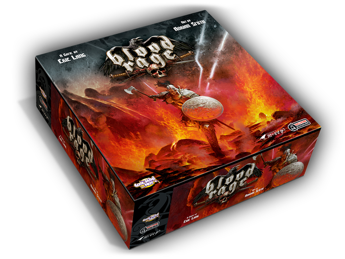 A strategic board game with amazing miniatures, where Viking clans pillage and battle in a quest for glory at the end of the world!