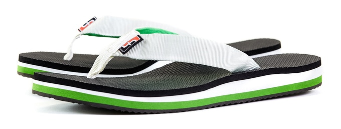 786e8f4fb Foot Flops  Heat moldable flip flops formed to fit your feet by Tom ...
