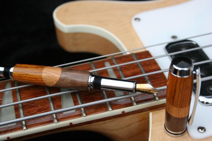 Tonewood Pens by Corey Nech - Notus Pens — Kickstarter