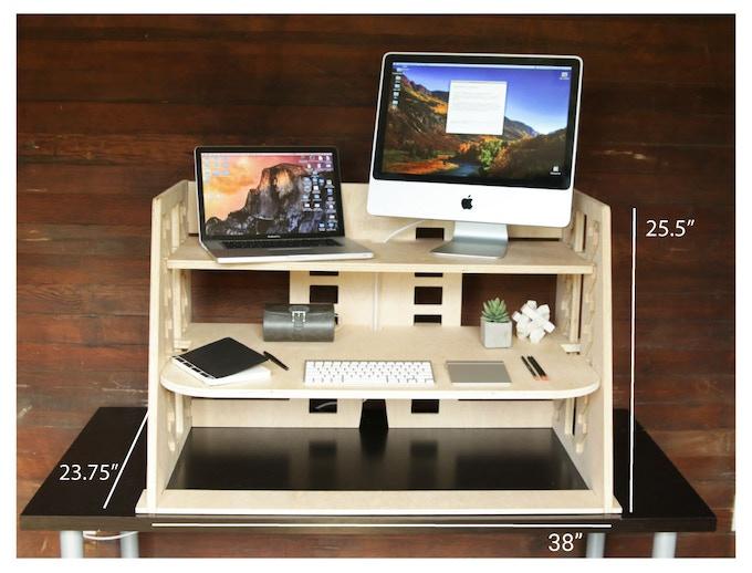 "Wide Desk 38"""