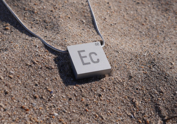 The element cube 62 elements 1 cube by cillian mcminn kickstarter the perfect wearable version of the cube inspired by the periodic table this necklace serves as a beautiful reminder of all that our planet is made of urtaz Image collections