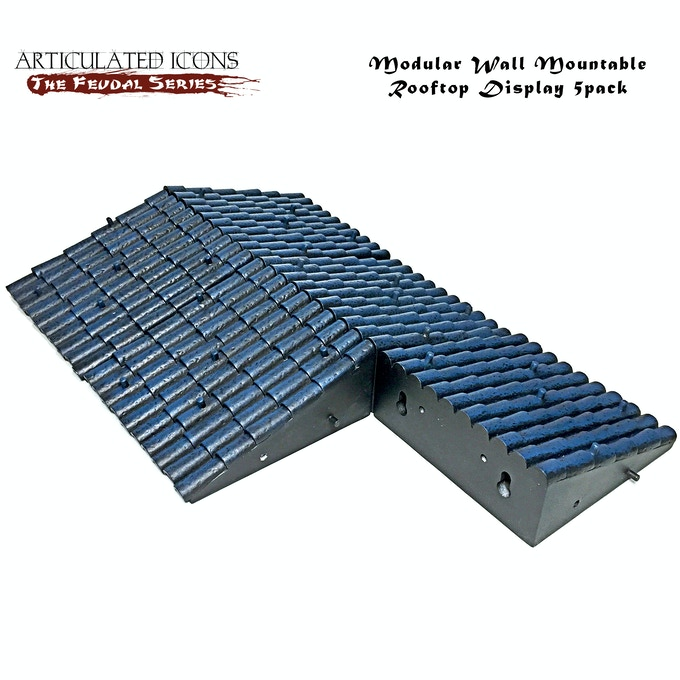 Modular Wall Mountable Rooftop Display 5pack