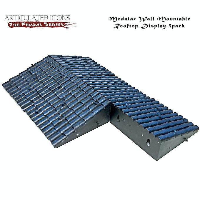 Modular Wall Mountable Rooftop Display 5pack