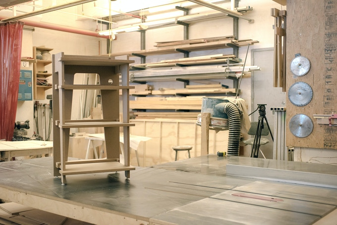 PROTOTYPE (#1 of 4): Designed In Brooklyn, the final units will be fabricated in Iowa.