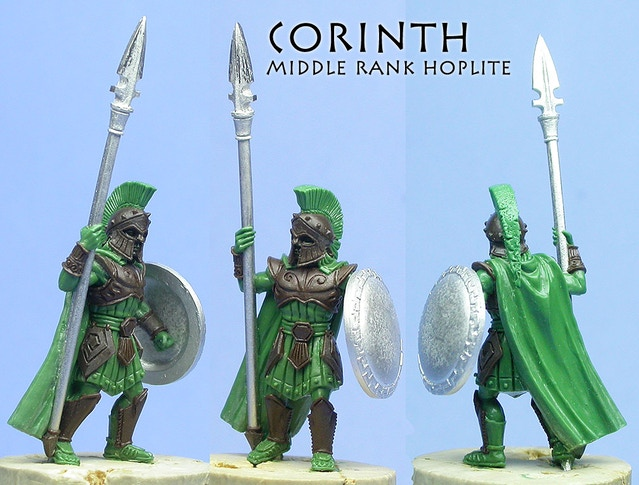 Corinthian Hoplite,                sculpted by Chris FitzPatrick