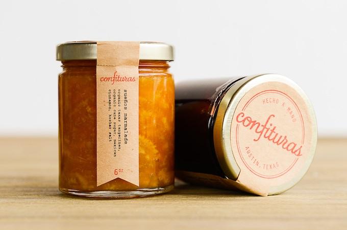 jars of confituras jam!