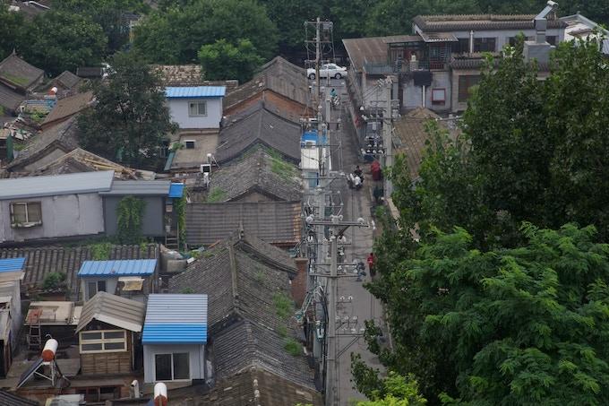 Hutong neighbourhood