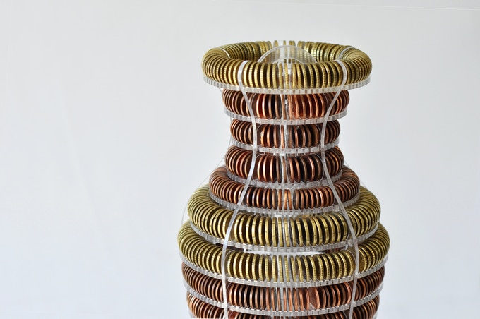 100 Euros in 1345 coins, reward for 140€ or more pledge