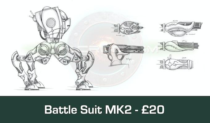 Battle suit Mk2