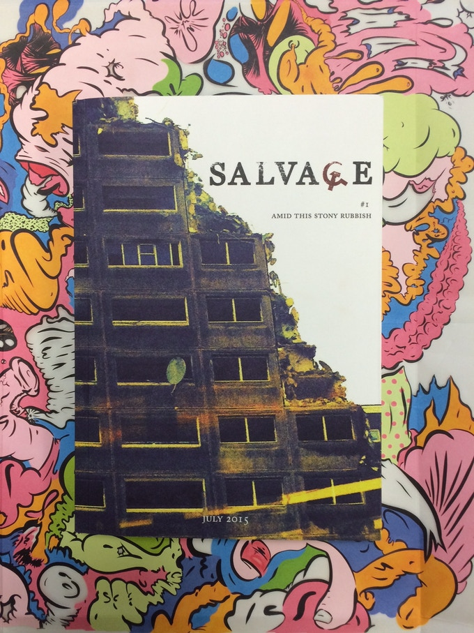 For £40 – A salvaged copy of China Mieville's quarterly, Salvage.
