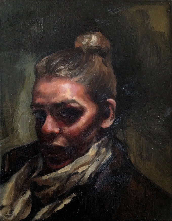 D S F Hobson Oil Painting