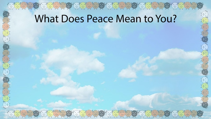 For as little as $21 we will post your thoughts on, What Does Peace Mean to You? Please go to our rewards page to receive our Peace Offerings, even be included  in our Peace Day Shows!