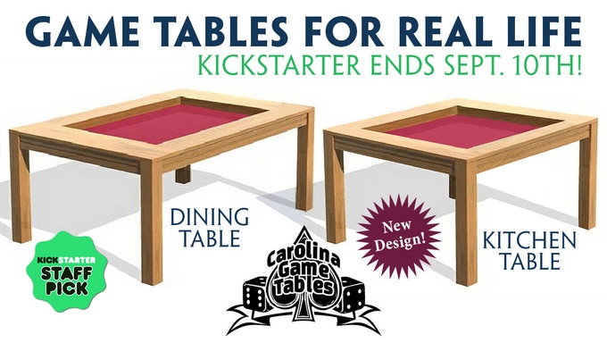 Now offering Dining Room and Kitchen Table designs!