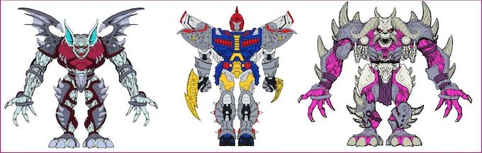 Various figure concepts