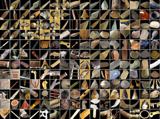 """A """"little"""" sample of objects from the video game."""