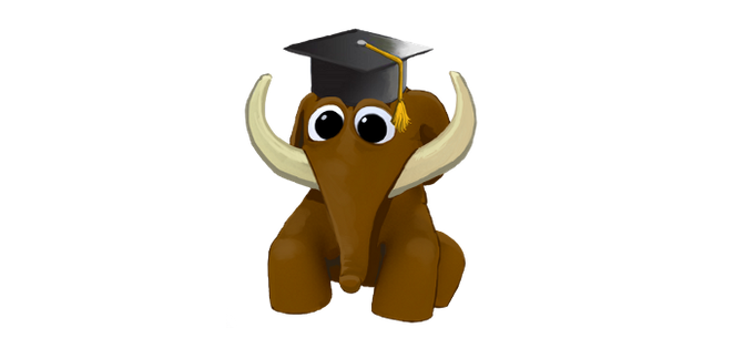 Mammu, the little mamut will show us the educative content.